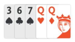 example of pair of queens in texas holdem