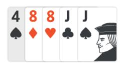 example of two pairs in texas holdem