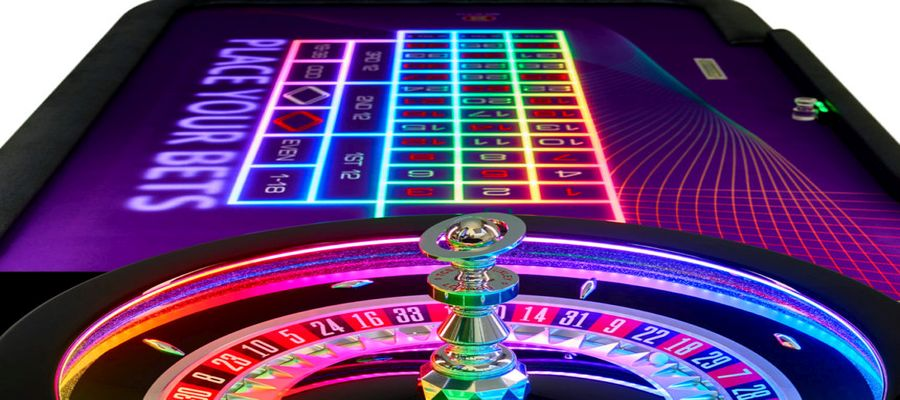 Image of roulette wheel