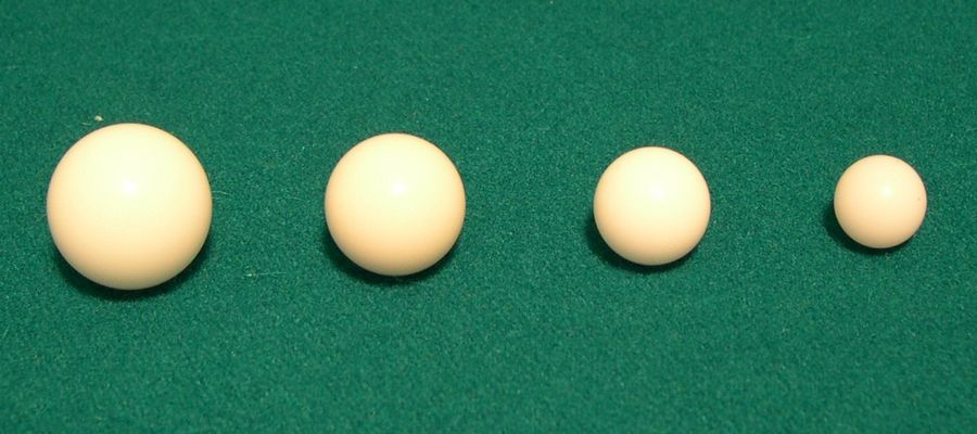 Example of roulette balls