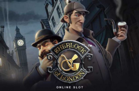 sherlock of london slot image