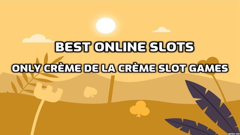 Best online slots cover image.