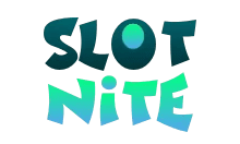 This is the Slotnite casino logo.