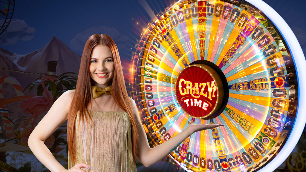Crazy Time live game