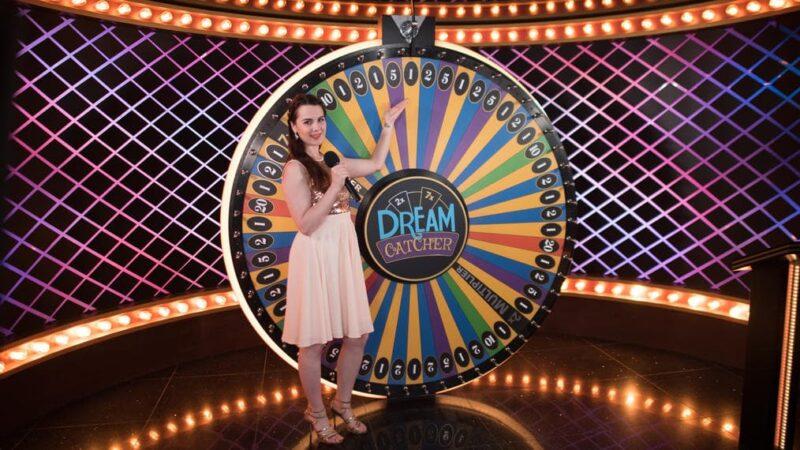 Dream catcher live casino game
