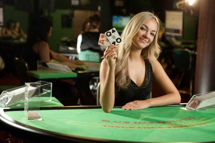 Live casino dealer.