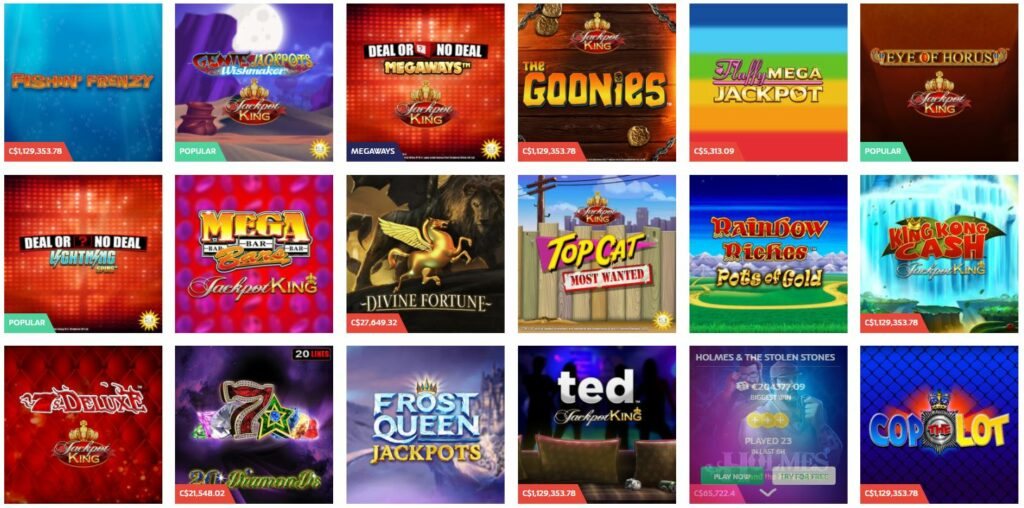 example of casino jackpot slots