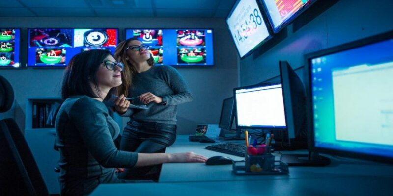 Evolution gaming live casino tehnical room.