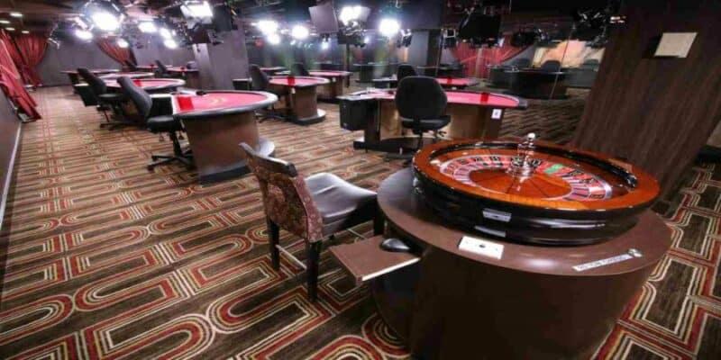 live casino studio - behind the scene