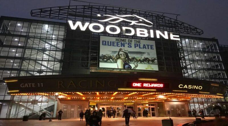 entrance in woodbine casino