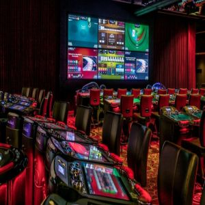 electronic table games in Woodbine casino