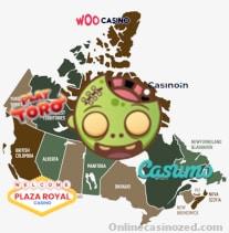 Online casinos Canada ZED