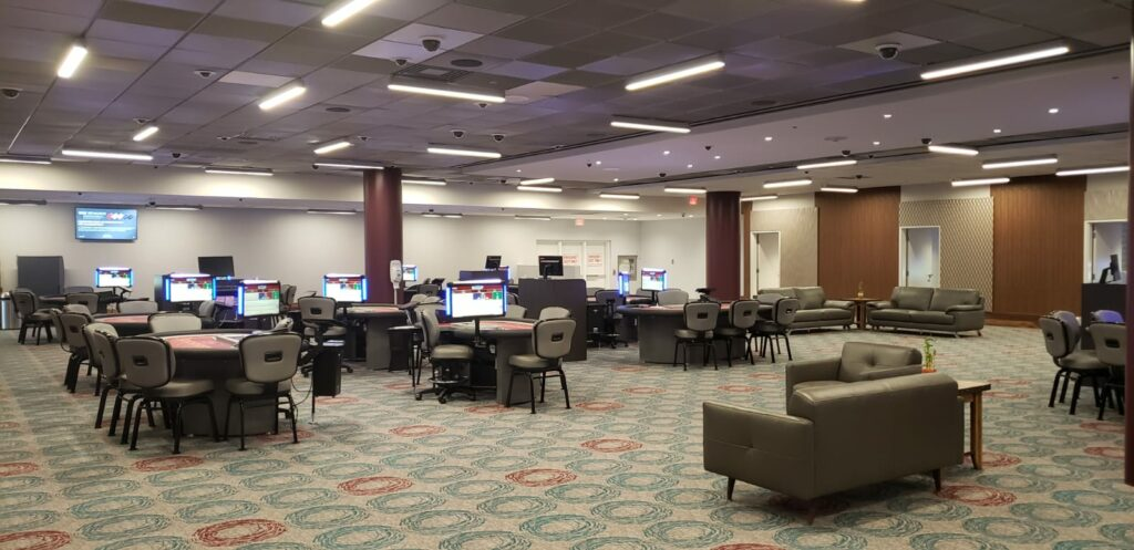 High limit gaming rooms at Casino Woodbine