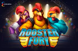 Rooster Fury slot game by Endorphina