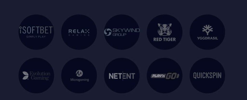 Genesis game providers list