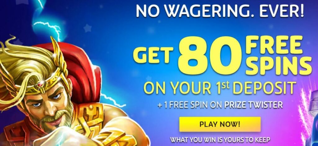 Playojo free spins bonus for CA.