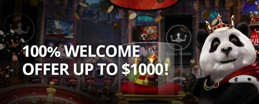 RP casino welcome bonus for Canada