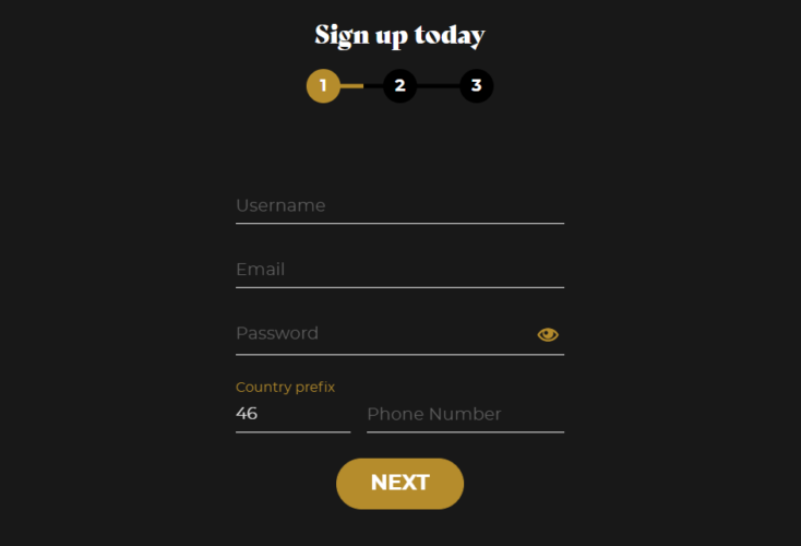 vegasoo registration page